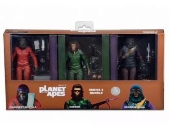 Planet Of The Apes SDCC Exclusive NECA 3 Figure Set